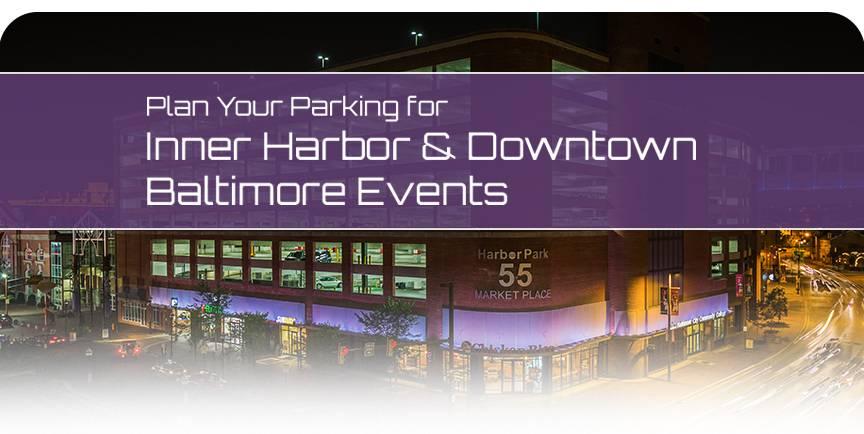 Harbor Park Garage Book parking