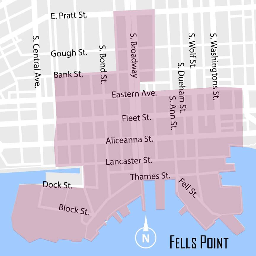 Fells Point And Its Charm Baltimore Inner Harbor Parking Guide