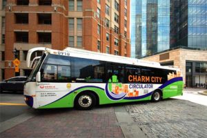 charm city bus circulator for charm city baltimore