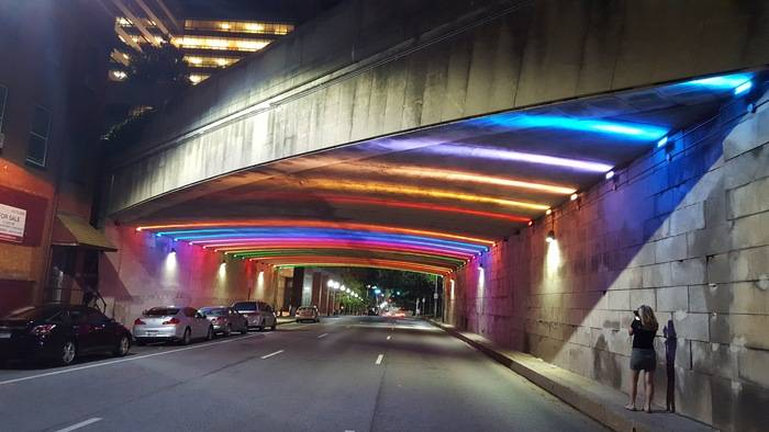 St Paul Tunnel Baltimore