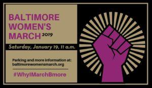 Baltimore Women's March 2019