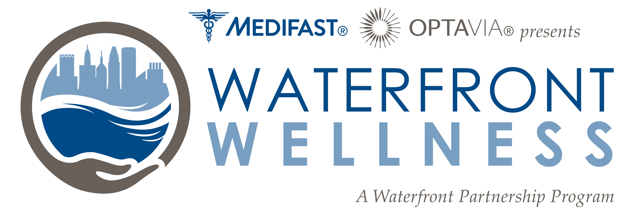 MedifastOPTAVIA_WaterfrontWellness_Logo